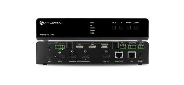 Atlona AT-UHD-SW-510W Multiformat Switcher, drahtlos