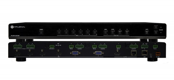 Atlona AT-UHD-CLSO-601 (PoE) Multiformat Switcher / Scaler