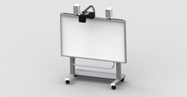Remonta RLF, mobile Höhenver. Projektionstafel, Epson EST