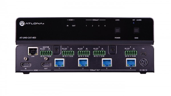 Atlona AT-UHD-CAT-4ED HDMI / HDBaseT Splitter, 1 X 4