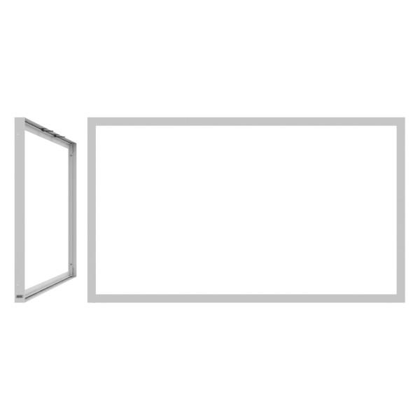 SMS Casing Frame 85'' weiß