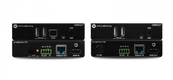 Atlona AT-OME-EX-KIT-LT HDBaseT Set, USB 2.0, 70m