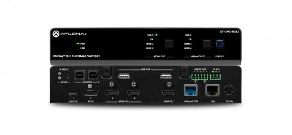 Atlona AT-OME-MS42 Multiformat Switcher / Scaler