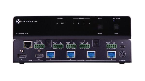 Atlona AT-UHD-CAT-4 HDMI / HDBaseT Splitter, 1 X 4
