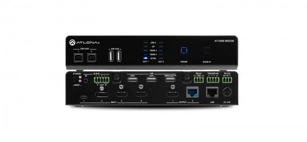 Atlona AT-OME-MS52W Multiformat Switcher / Scaler