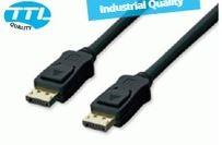 Displayport-Kabel 10m DP 1.2 St./St. schwarz